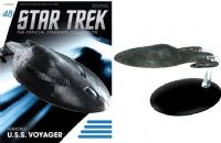 Star Trek The Official Starships Collection #48 Armored U.S.S. Voyager